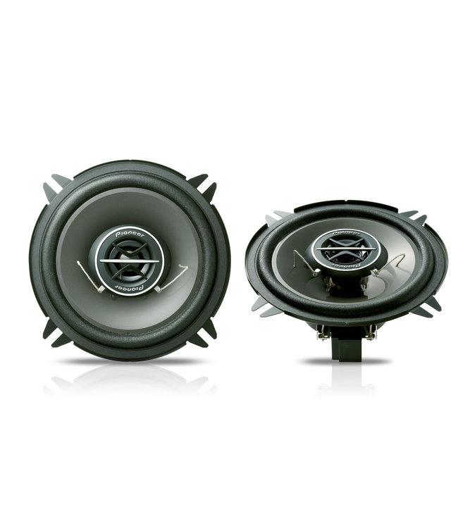 Pioneer TS-1302i Pasklare ronde 13cm 2-Weg auto speakers | 130Watt | 2 weg systeem | Custom Fit !!
