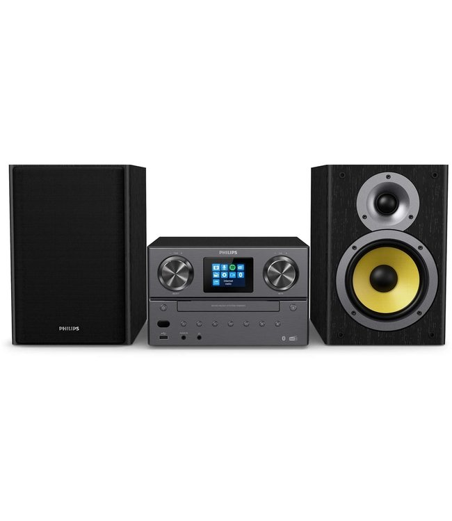 Philips TAM8905/10 stereoset met CD, USB, DAB+, FM radio | Internet Radio