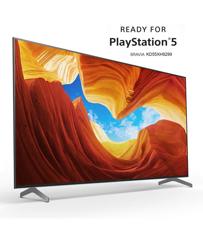 Sony KD-55XH9299BAEP | BRAVIA™ | Smart led tv | 140cm / 55inch | Full Array backlight | Dé Gaming tv