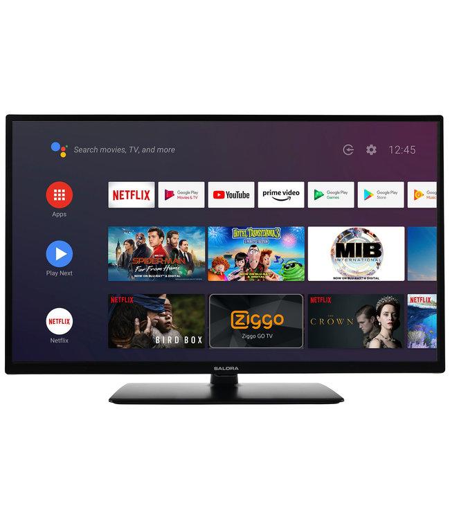 Salora 24EHA2204 Led tv 61cm / 24 inch Android  Smart TV |  Chromcast ingebouwd