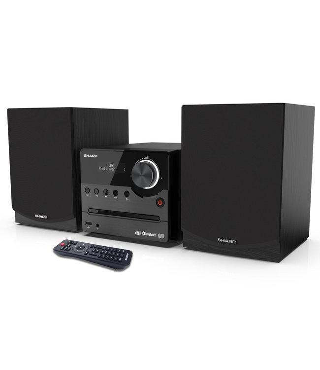 Sharp XL-B517D(BK) stereoset met CD, USB, DAB+ digitale radio