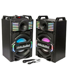 3H 2 x Party speakers
