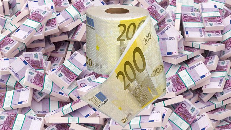 200 en 500 euro duurder