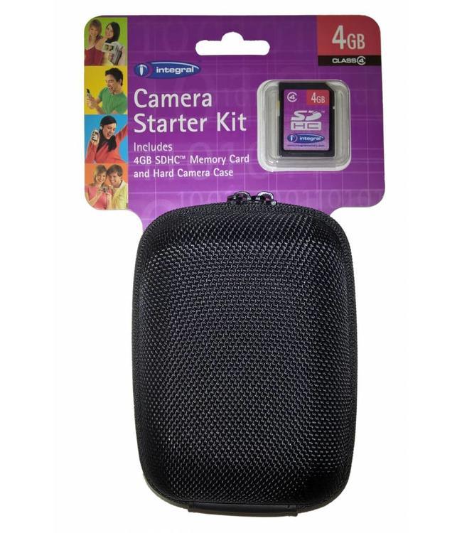 Harde camera bescherm tas + GROTE 4GB SD kaart