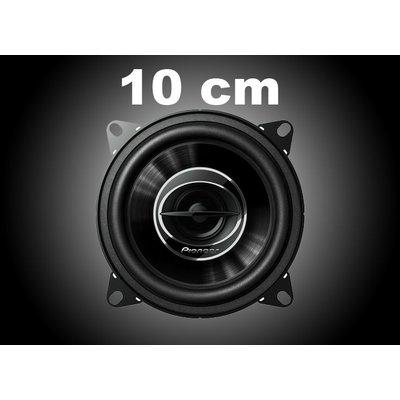 10cm Autospeakers