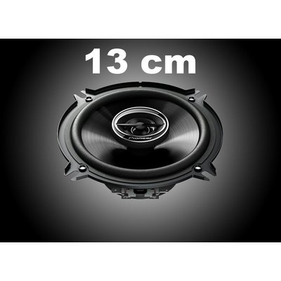 13cm Autospeakers
