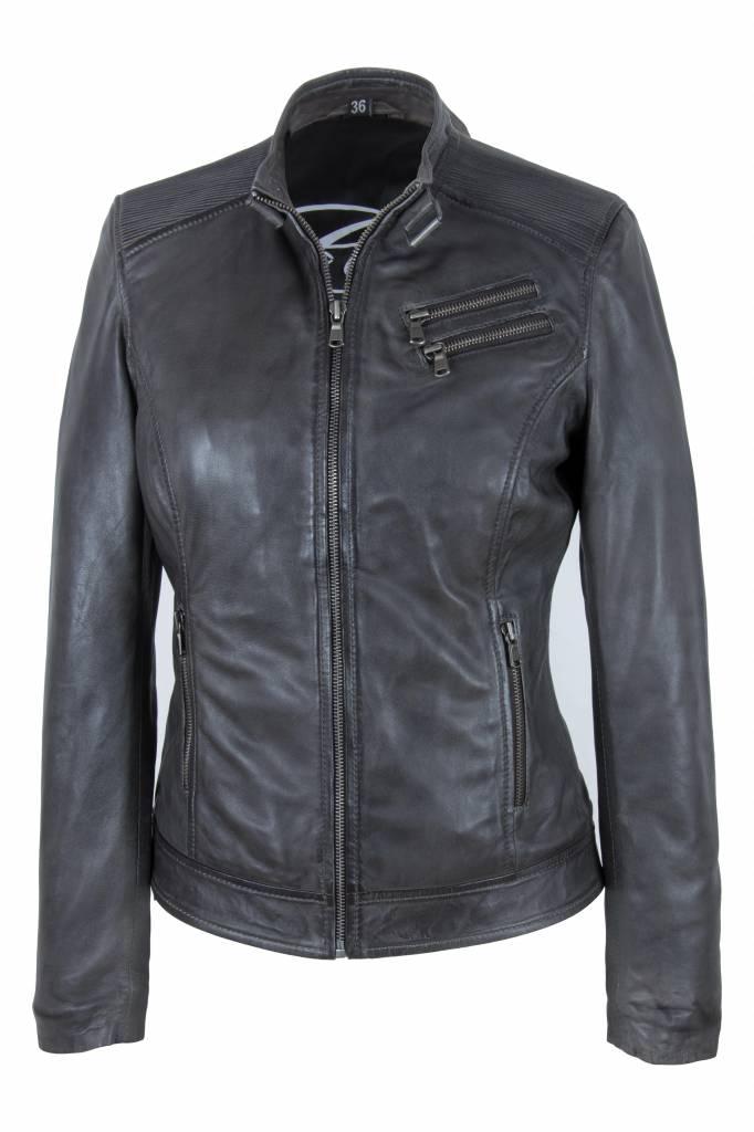 Italiaans dames leren jassen Leather City