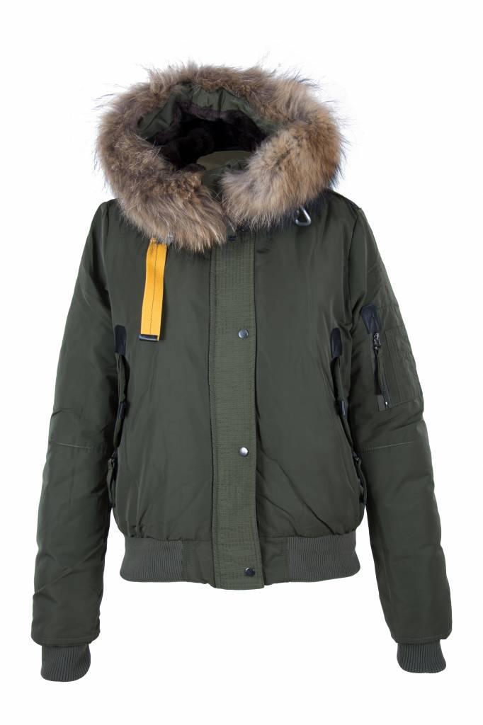 Macleria winter jas groen