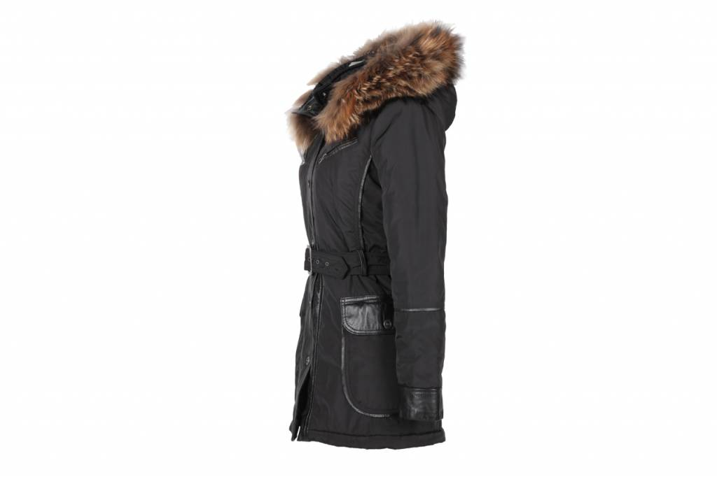 Winterjas Lang Dames.Water Proef Dames Jas Leather City