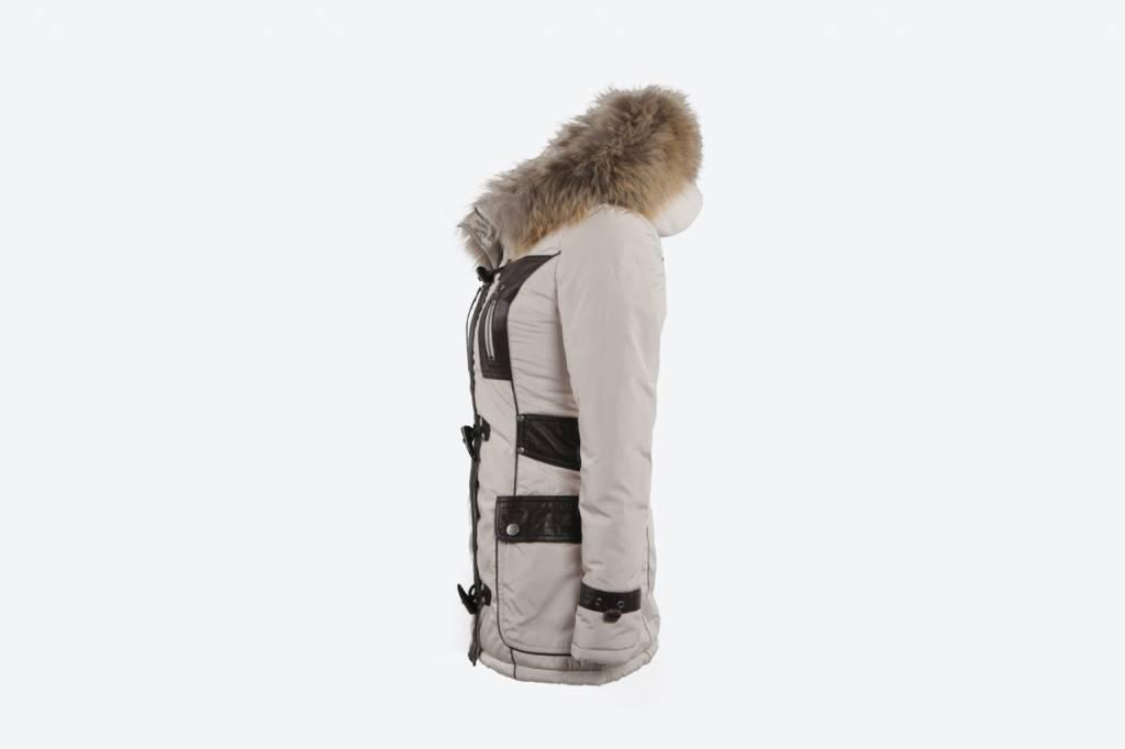Winterjas Dames Trend.Houtje Touwtje Winterjas Dames Leather City
