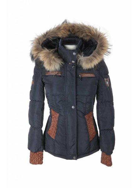 Milan Ferronetti Dames winterjas blauw 88