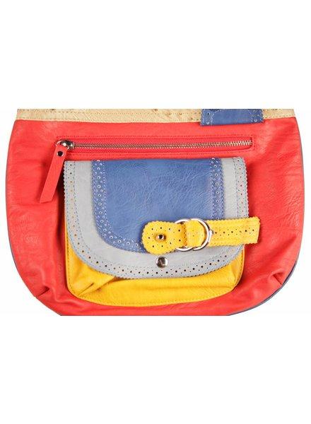 Dames tas rood B13