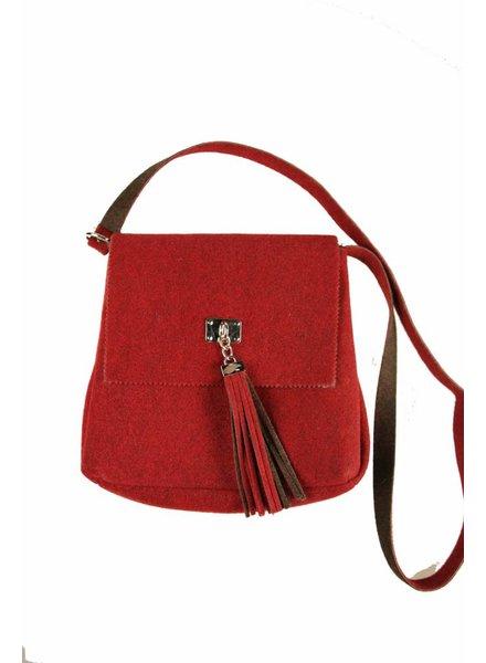 Dames tas rood B07