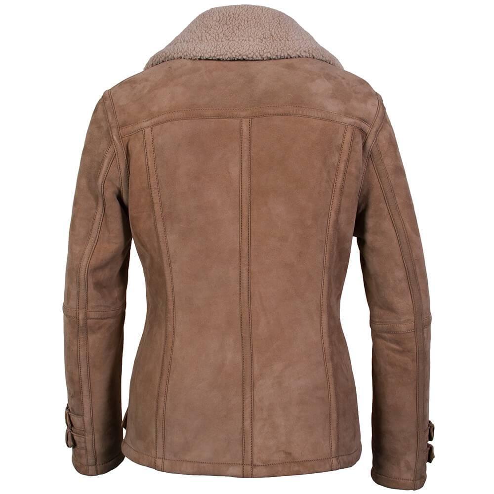 Carlo Sacchi Lammy coats dames beige