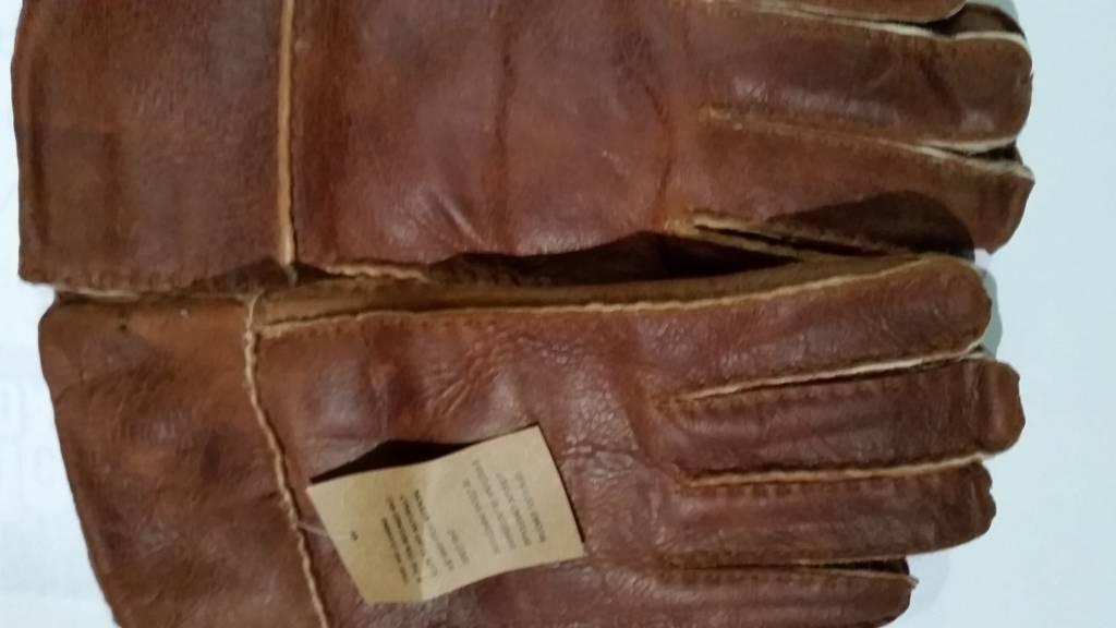 Hippie Lammy handschoenen licht bruin