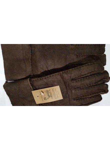 Lammy handschoenen donker bruin