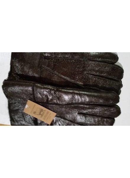 Hippie Lammy handschoenen zwart