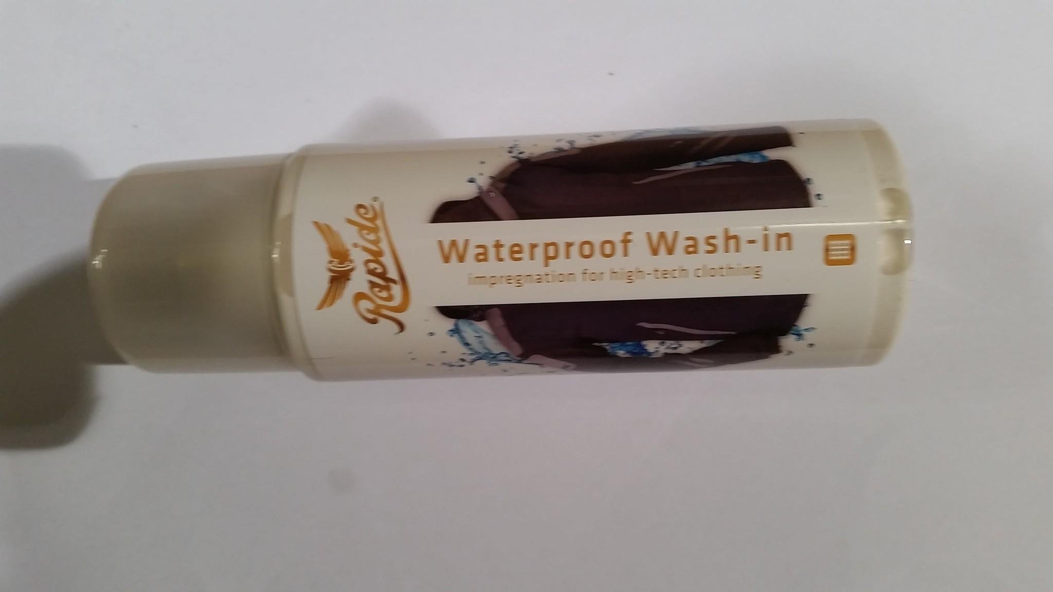 Wasmiddel waterproof wash in
