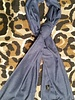 Dames en heren sjaal blauw van cashmere