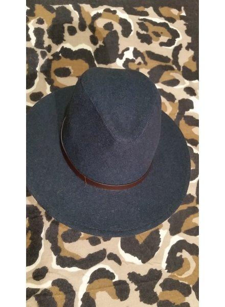 Dames en heren hoed blauw