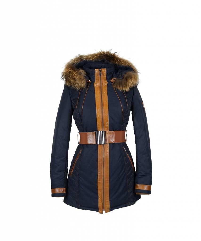 Lang Winterjas.Lang Winterjas Voor Dames Leather City