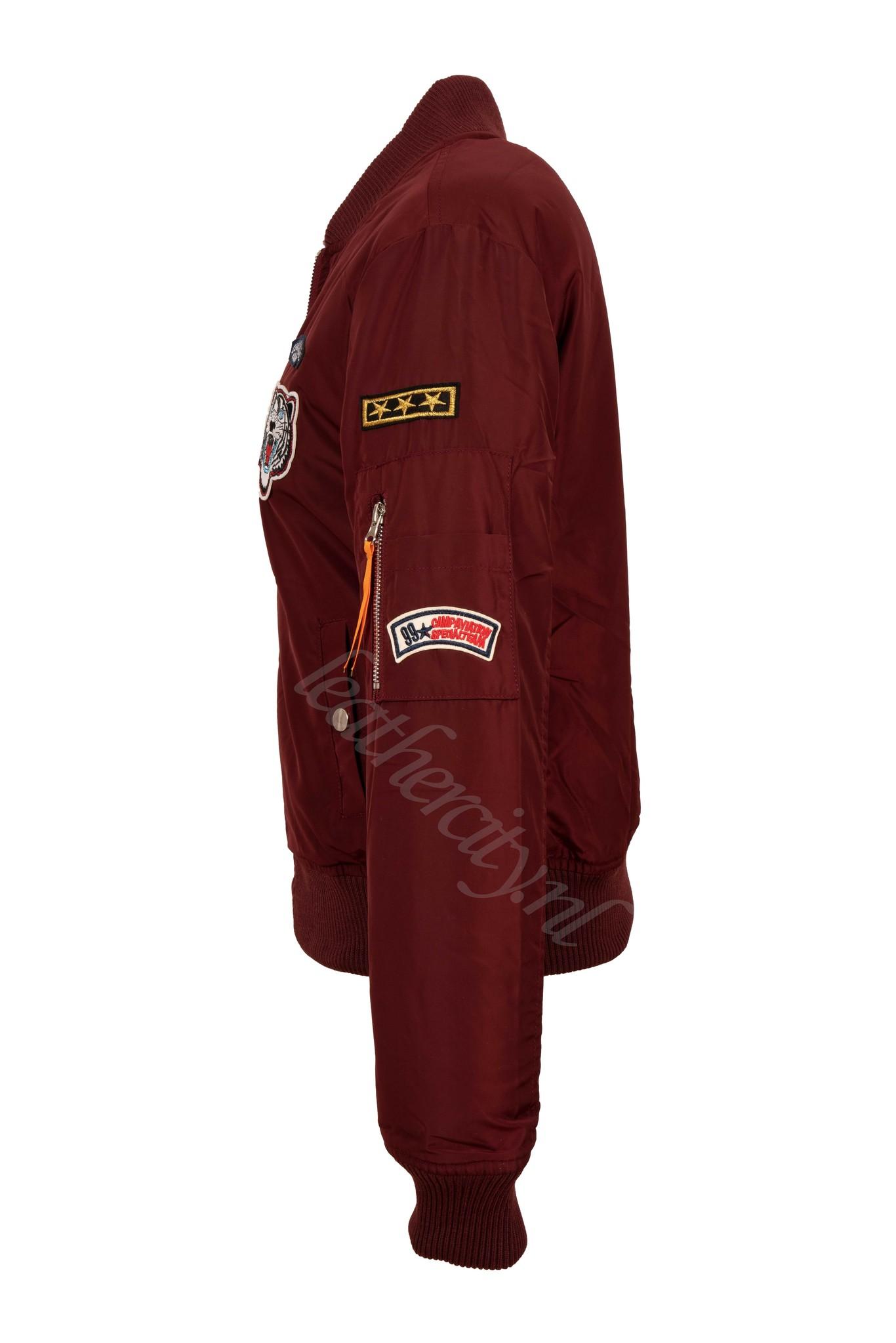 Attentif Dames bomber Jacket 2 rood