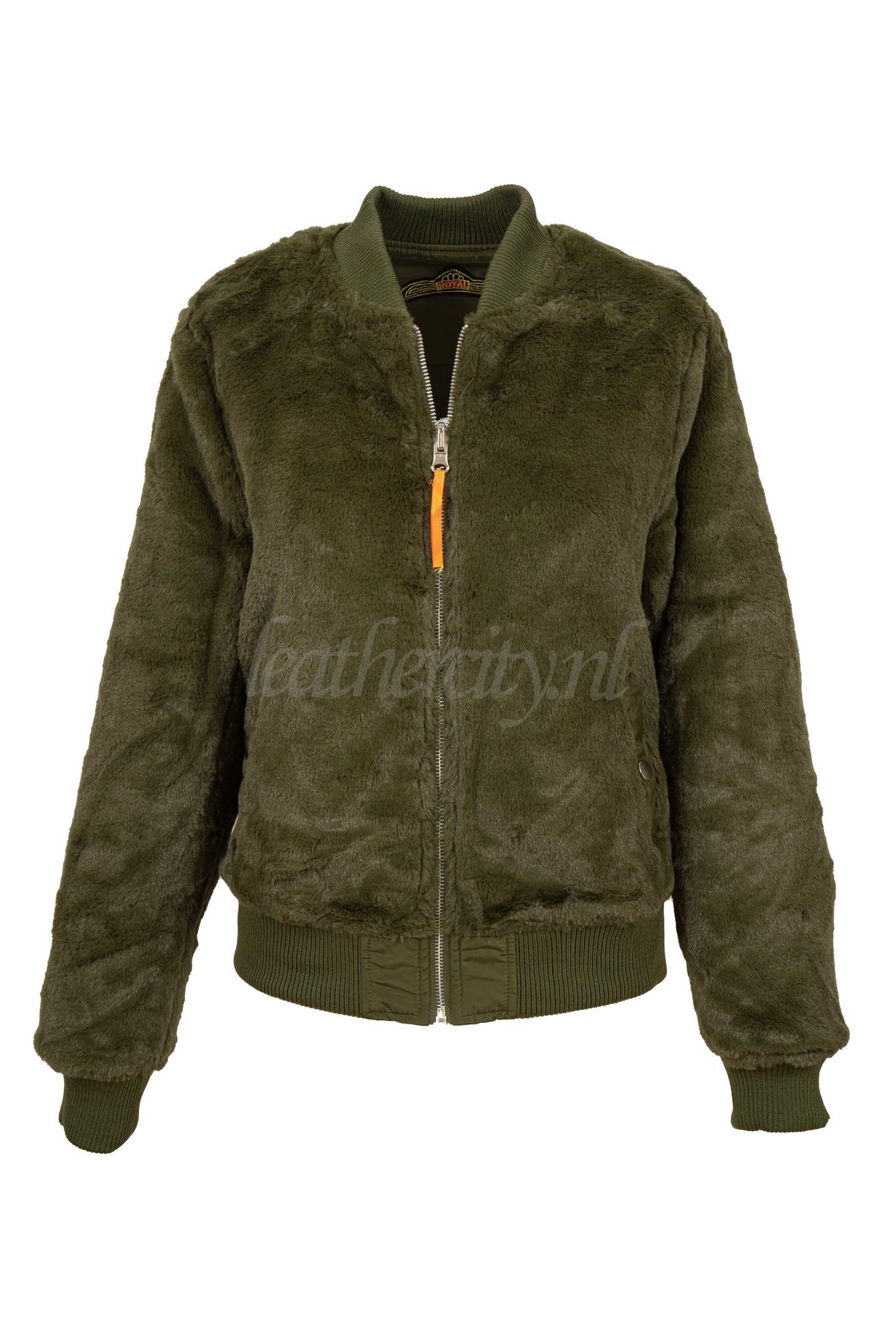 Attentif Bomber Jacket groen 2
