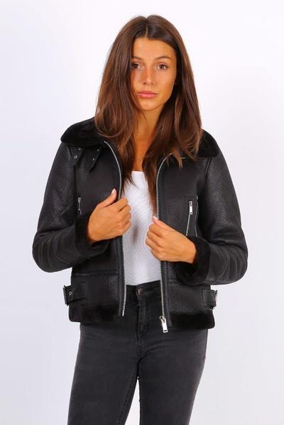 Dames lammy coat