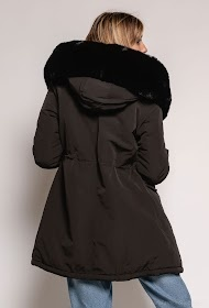 Winterjas dames zwart
