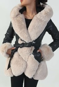 Lammy coats dames beige