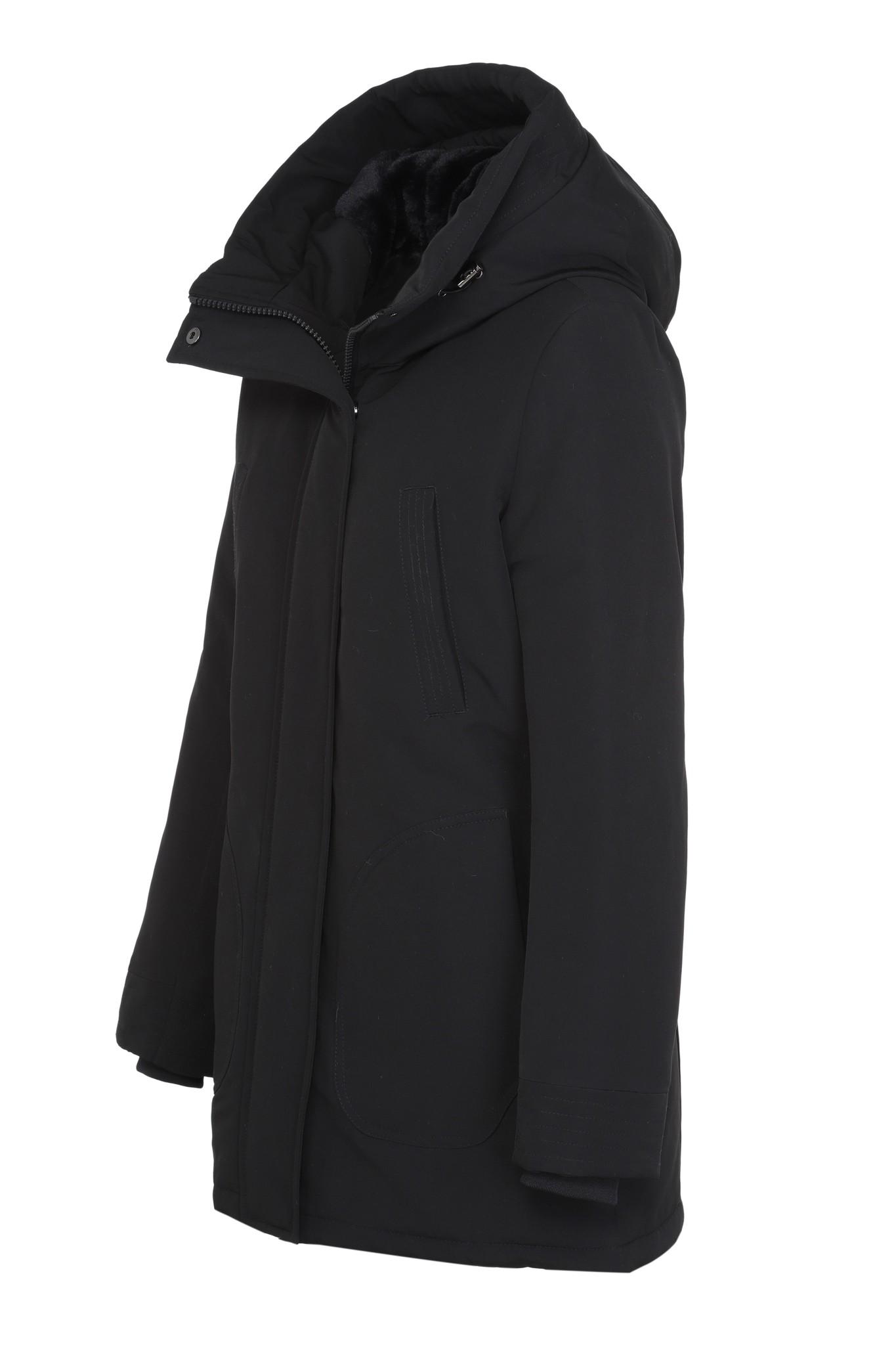 Dames winterjas parka zwart GV