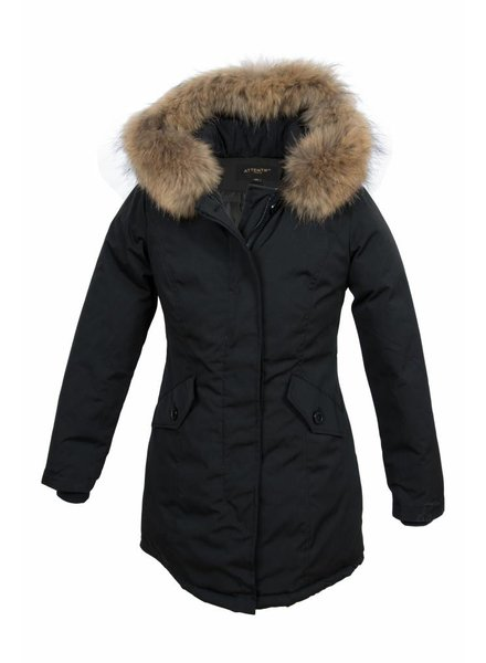Winterjas Dames Capuchon.Winterjas Dames Parka Met Bontkraag Leather City