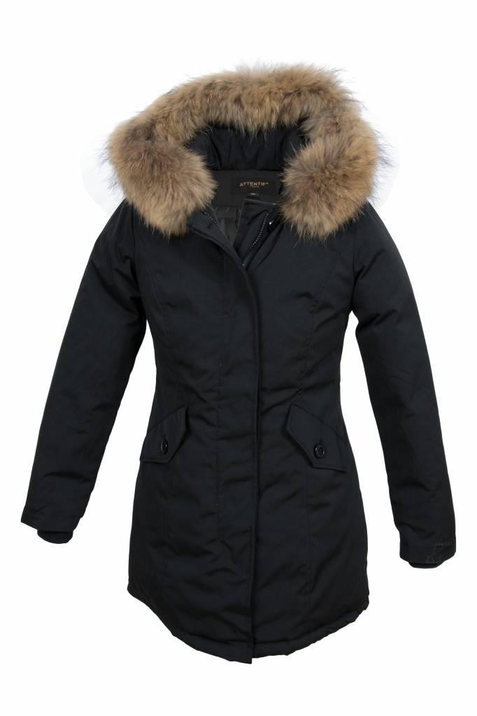 dames jassen winter met bontkraag
