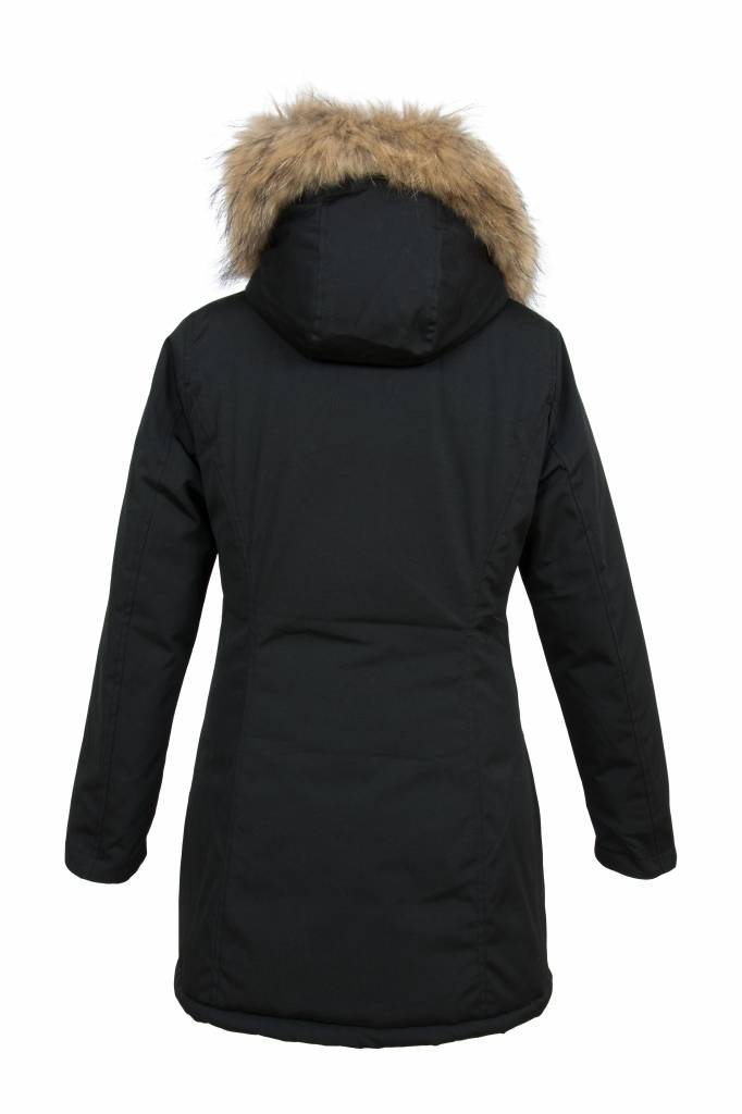 Parka Dames Winterjas.Winterjas Dames Parka Met Bontkraag Leather City