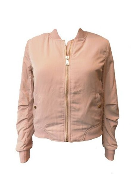 Attentif Dames bomber jacket roze