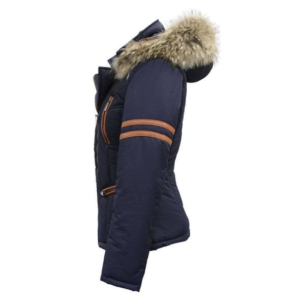 Dames winterjas met Bontkraag baluw AK4