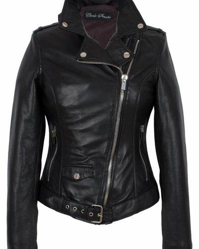 goede verkoop Koop Authentiek tijdloos design leren jas