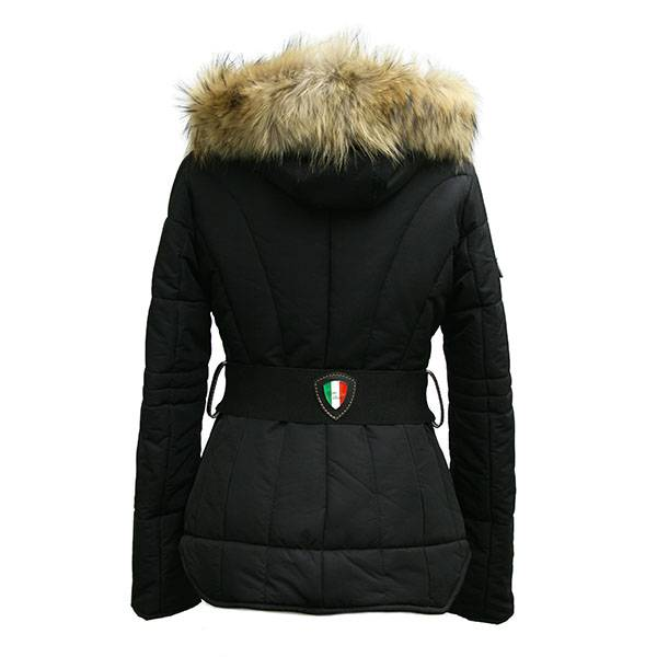 Carlo Sacchi Dames winterjas zwart 037