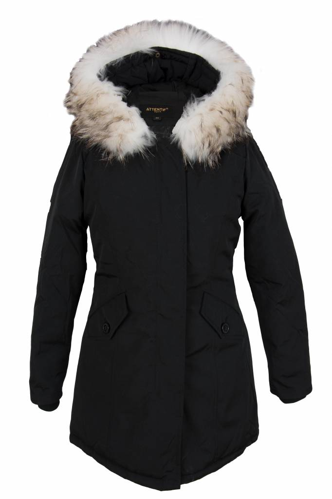 Dames Parka Zomerjas.Winter Parka Jas Dames Leather City