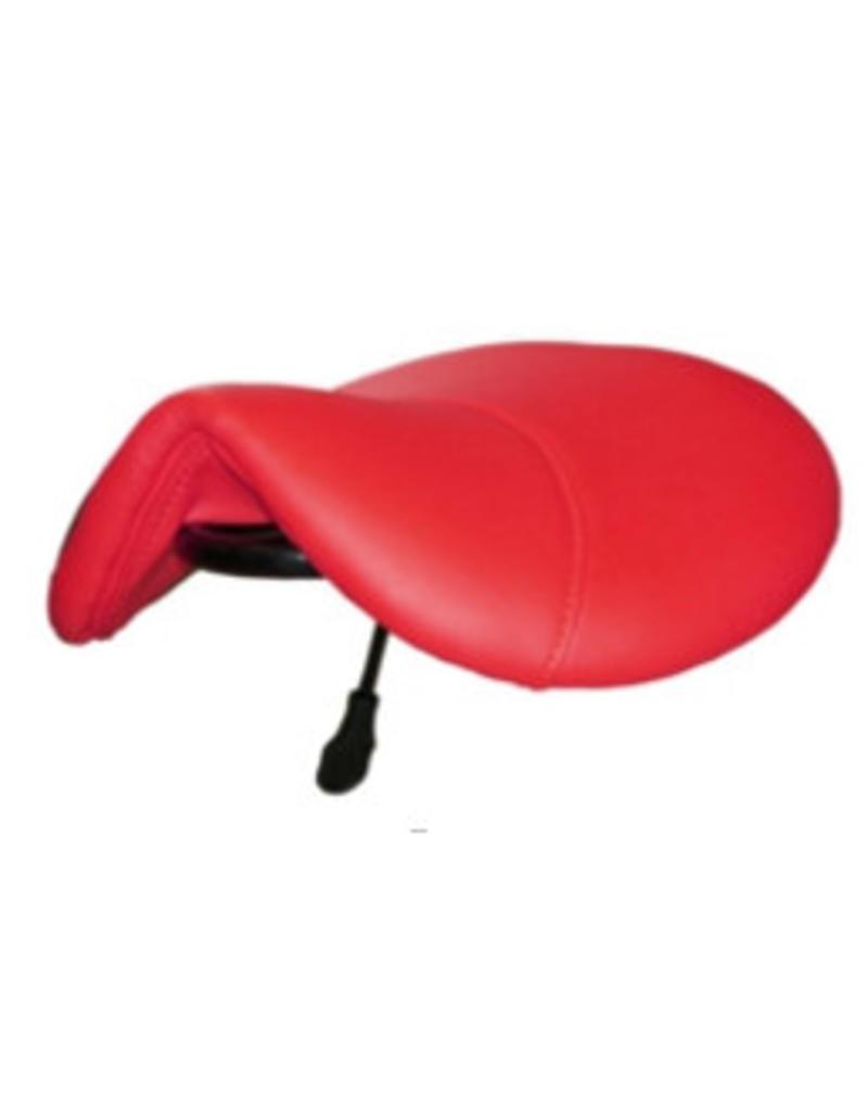 Kapperskruk Rood Standaard met Voetring