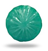 Kastknop Melkglas Turquoise