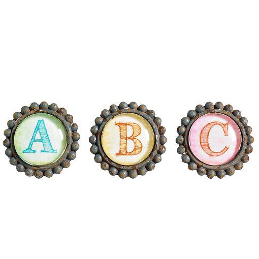 Nordal Kastknoppen ABC (set van 3)