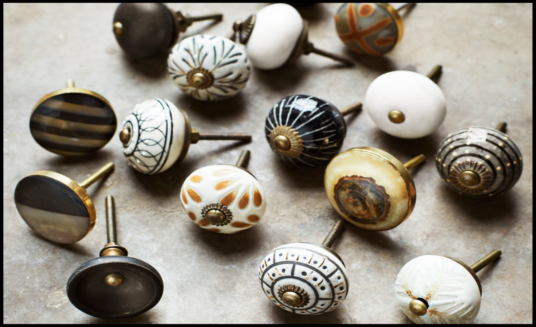 Nieuwe kastknoppen in de collectie