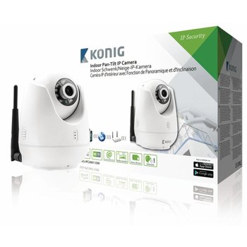 König Pan-Tilt IP-Camera