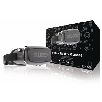 Sweex Virtual Reality-Bril Zwart/Zilver