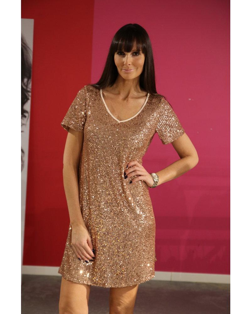 glitter kleed