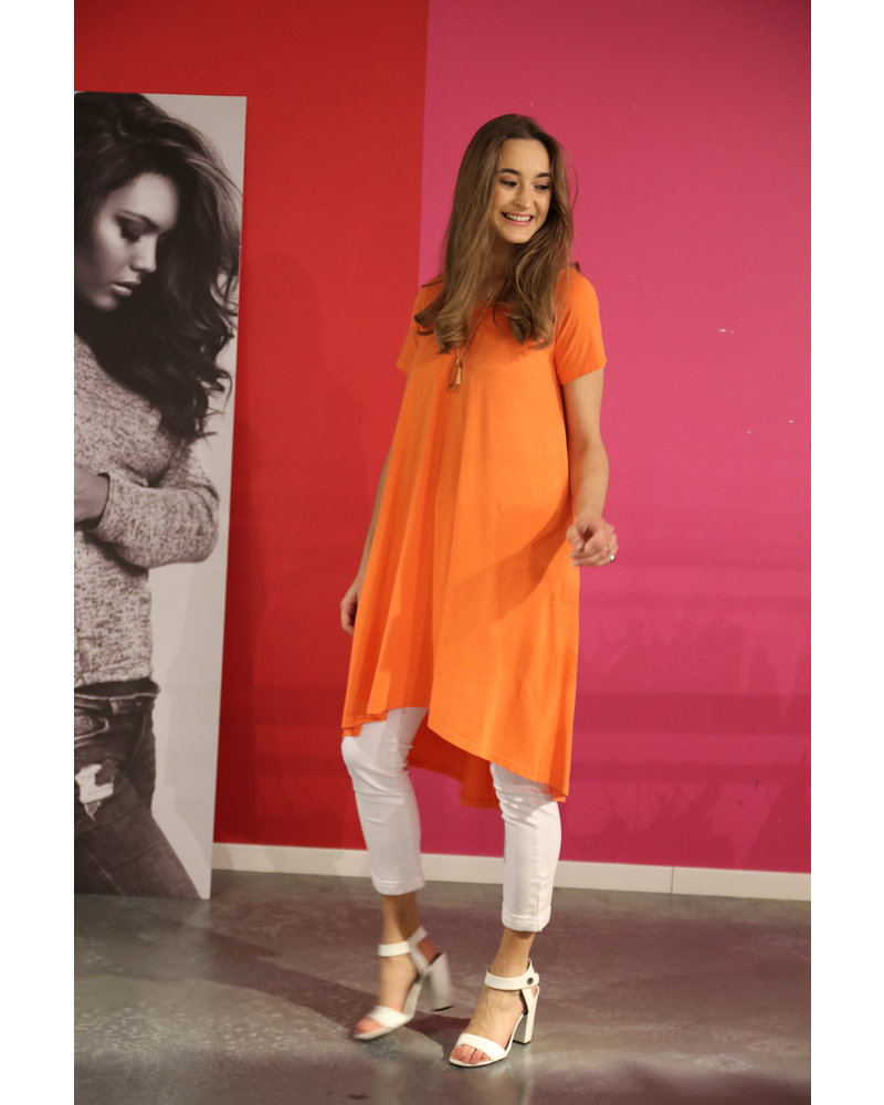 orange kleed/tunique