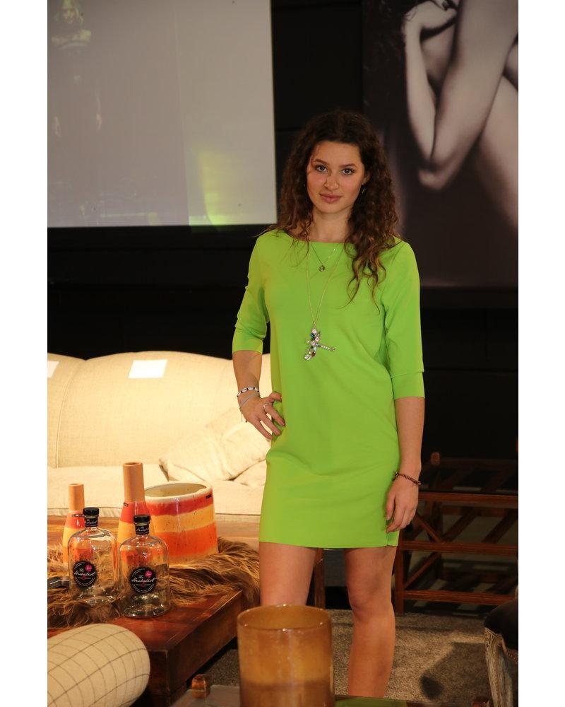 kleed kort fluo groen