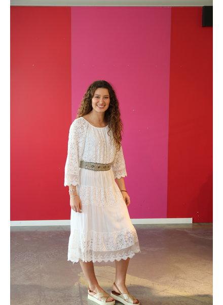 kleed lang wit
