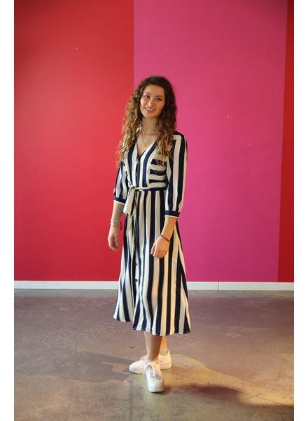 kleed lang met streep